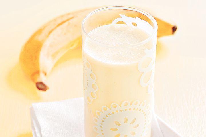 Banana coconut smoothie