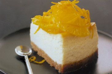 Lower-fat cheesecake