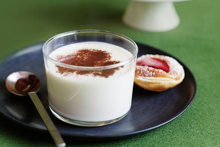 Mini strawberry and almond tarts